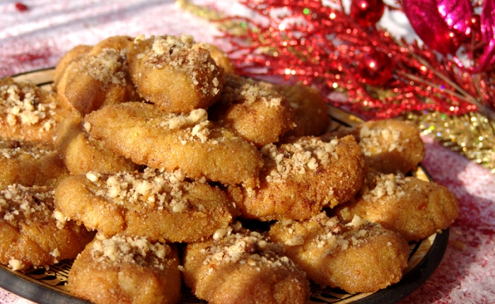 Tasty Traditions: Melomakarona, Greek Honey Cookies