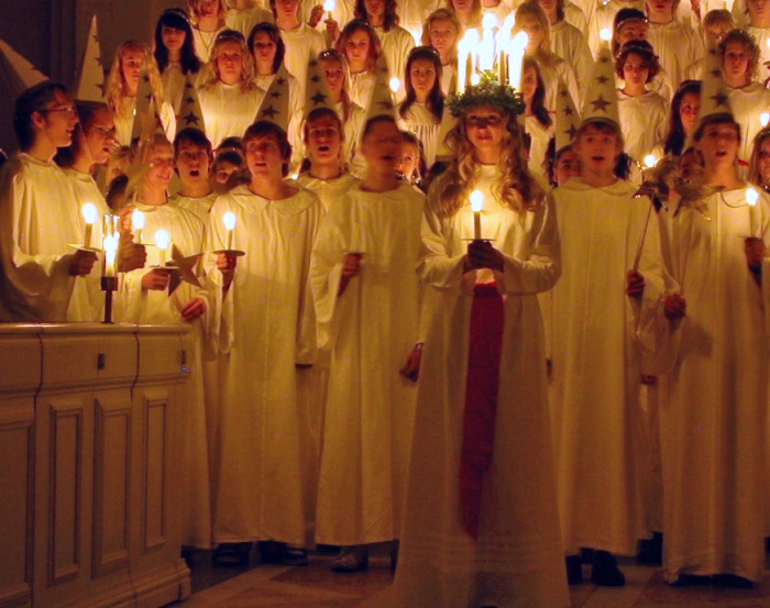 St Lucia's Day in Sweden: Bringing Light in the Winter Darkness